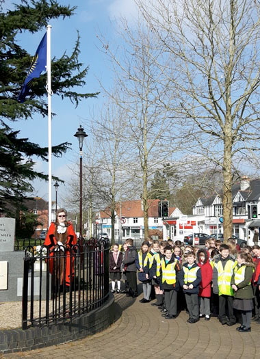 Commonwealth Day in Verwood