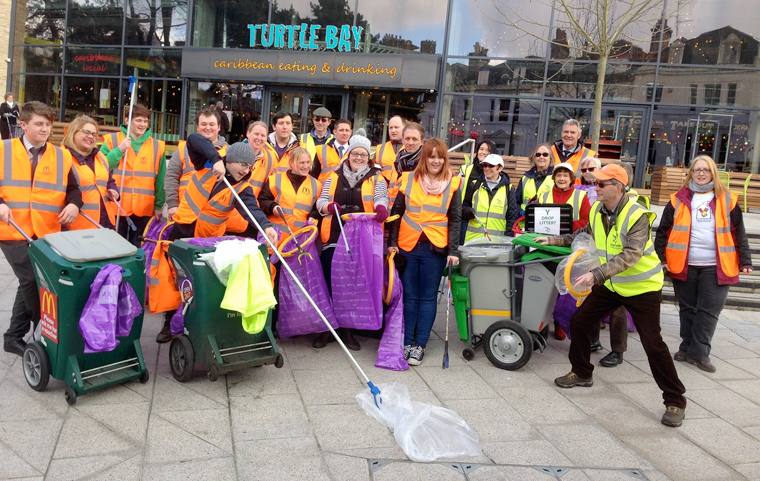 The Bournemouth Town Centre Business Improvement District (BID) and the town's Healthy High Streets group are hosting a dedicated clean up on Wednesday 29 March