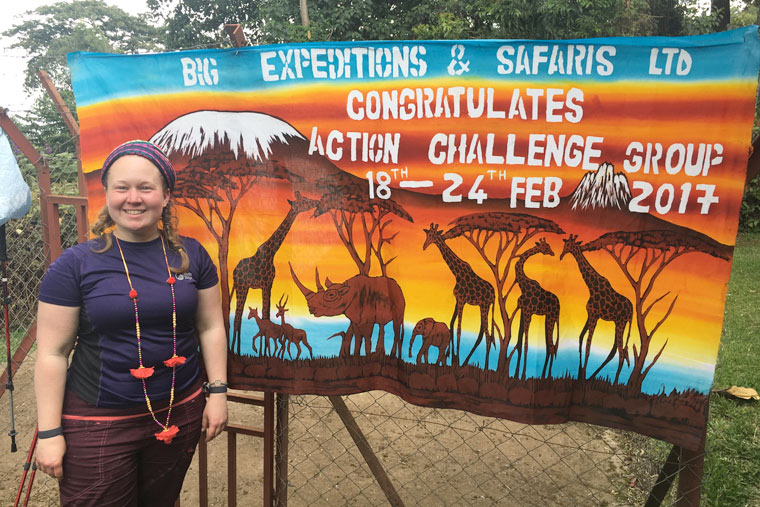 Jenny Peace, Communication Manager at Diverse abilities, climbs Kilimanjaro raising £6,200