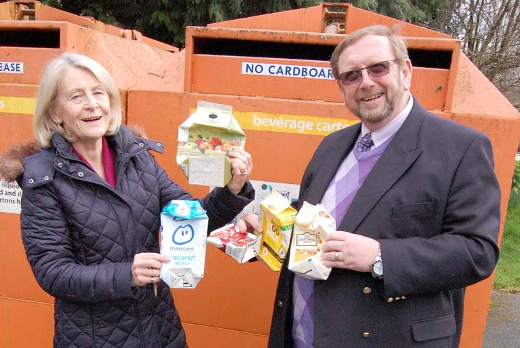 Carton banks could be removed if residents persist in using them wrongly