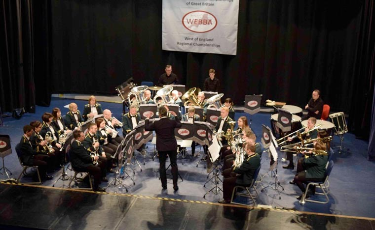 Verwood Concert Brass gained third place at the West of England Brass Band Association regional finals in Torquay on 12 March.