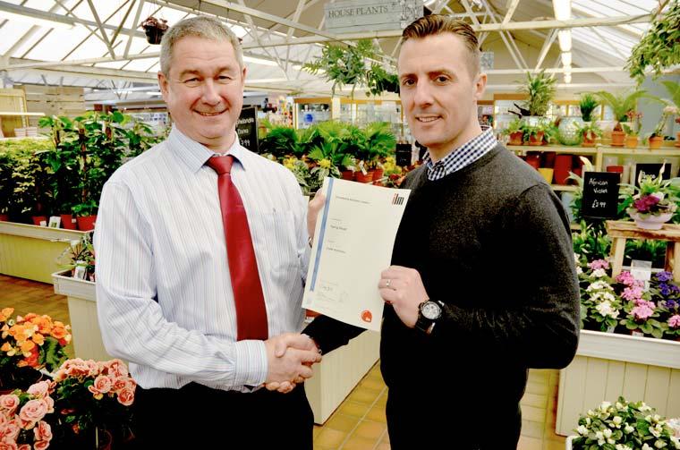 Stewarts Garden Centre management courses