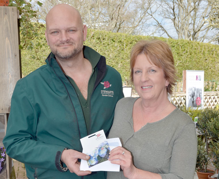 Winner of the Mags4Dorset Stewarts competition