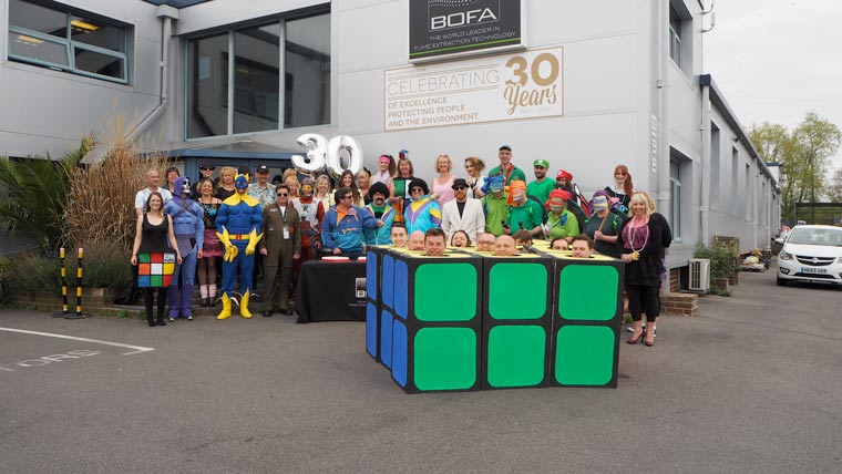 BOFA 30 years fun day celebration