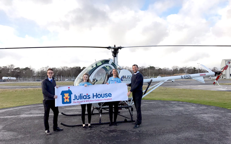 Bliss Aviation supports Julia's House