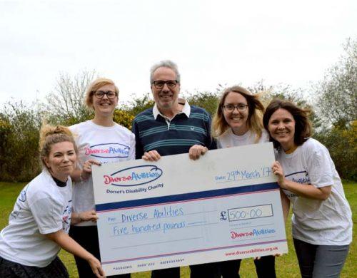 Spetisbury Pantomime raises £500 for Diverse Abilities