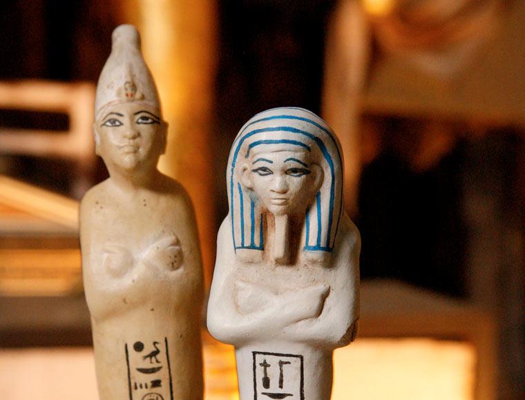 Tutankhamun shabti figures commemorate 30 year milestone