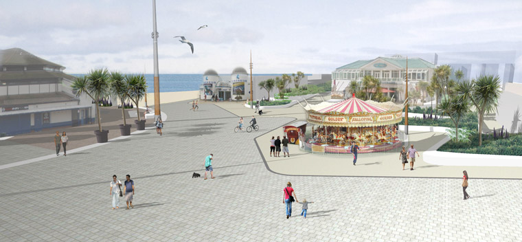 hase Two of Bournemouth's Pier Approach Improvements will start in September