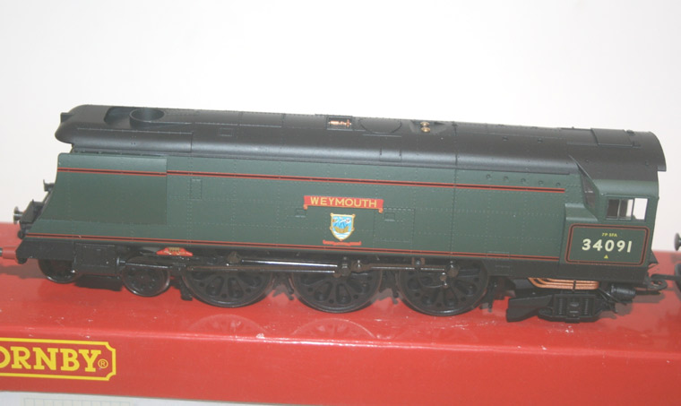 Model trains at Crewkerne Auctions on 12 May 2017