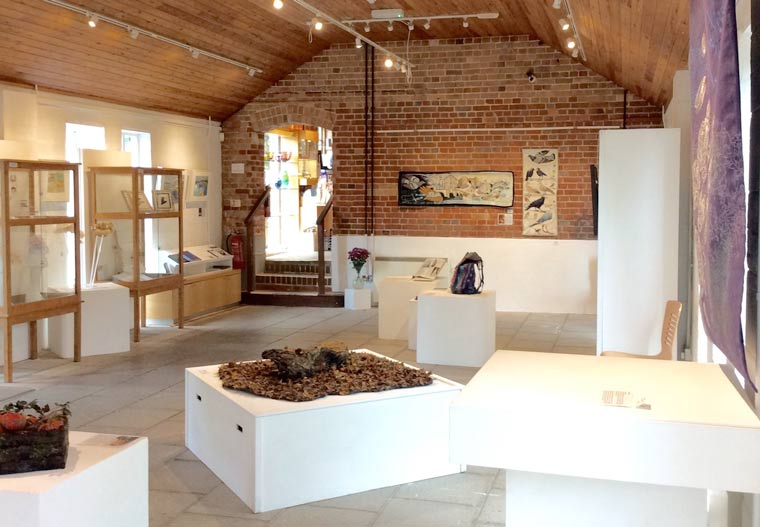 Textile Textures exhibition at Walford Mill Crafts