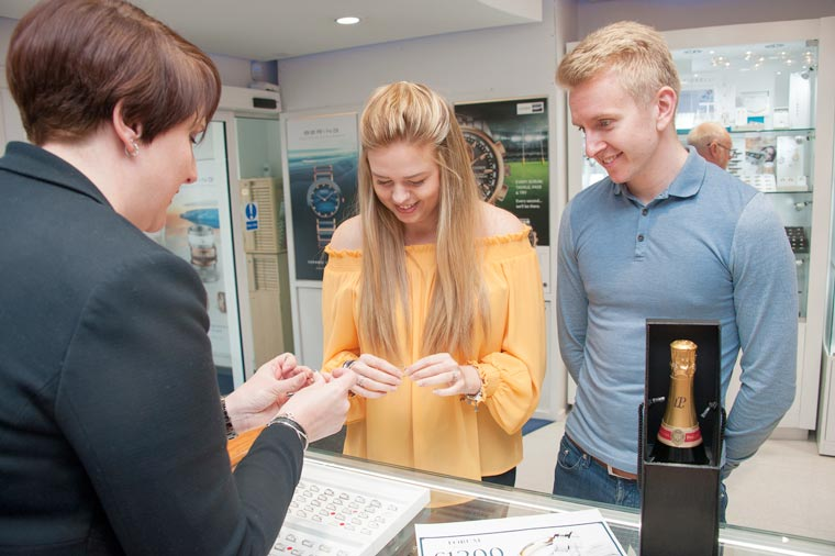 Couple win wedding rings in a competition held by Forum Jewellers.