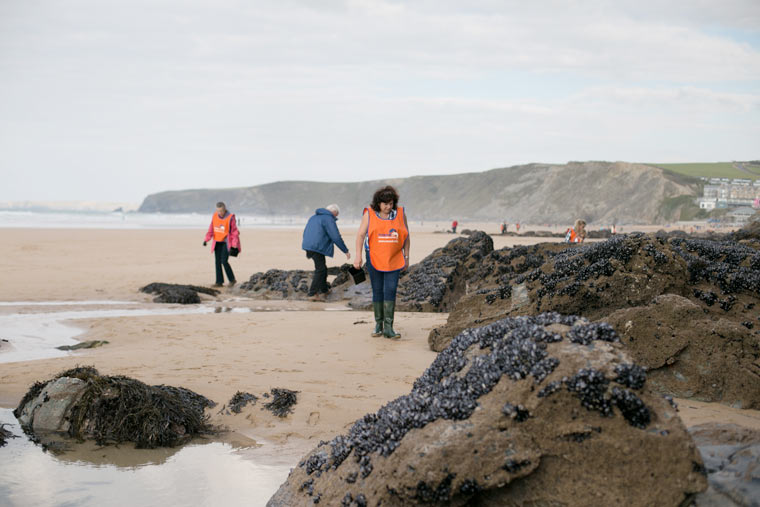 Over 50s Bournemouth Beach Clean