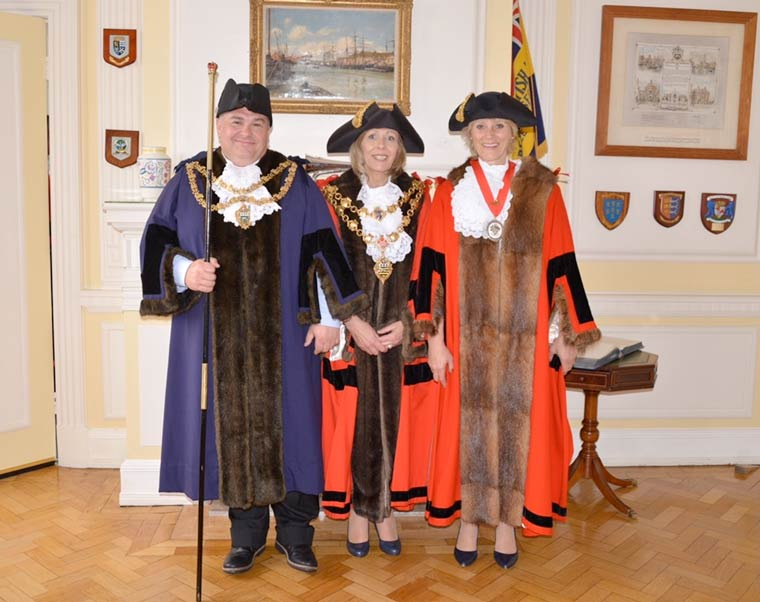 Poole' 769th mayor has been elected