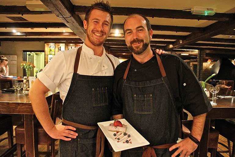 Josh and Simon (right)