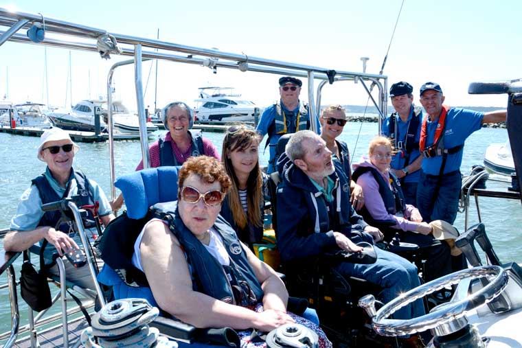 Free trips for the disabled thanks to £14,000 funding