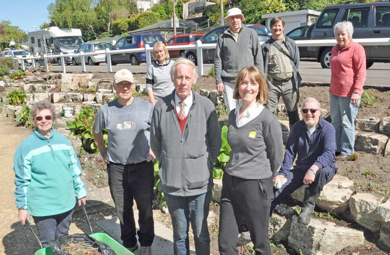 Coy Pond rockery sees restoration