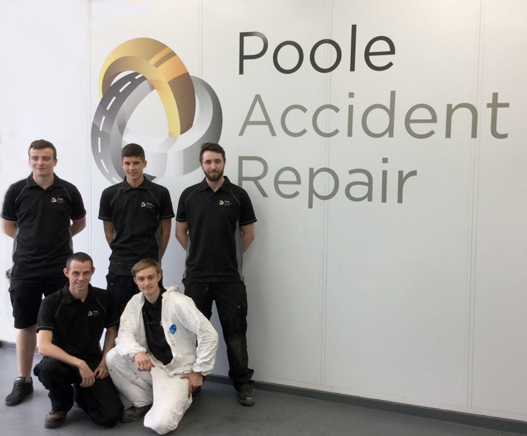 Poole Accident Repair is looking for three new apprentices