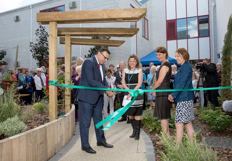 Bournemouth Hospital Charity celebrated the official opening of the Royal Bournemouth Hospital's beautiful new Orchard Garden with a special ceremony on 6 June.