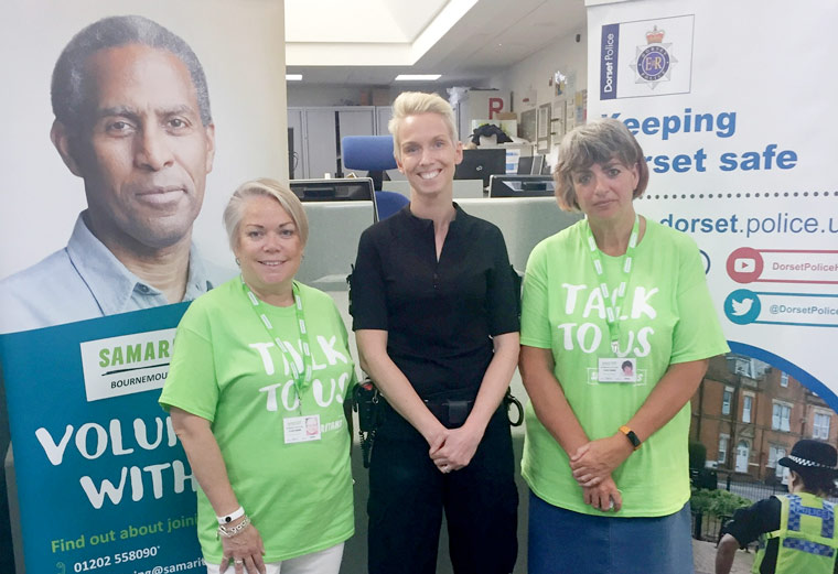 Dorset Police working with Samaritans