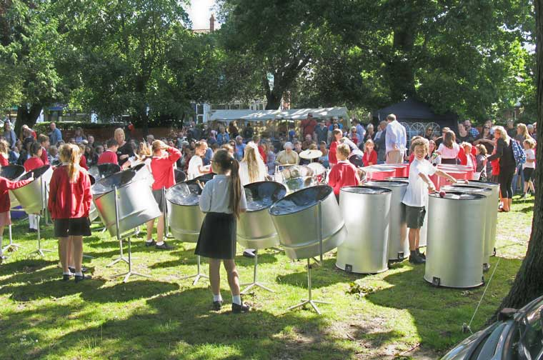 Summer Fayre at St Peters, Parkstnone