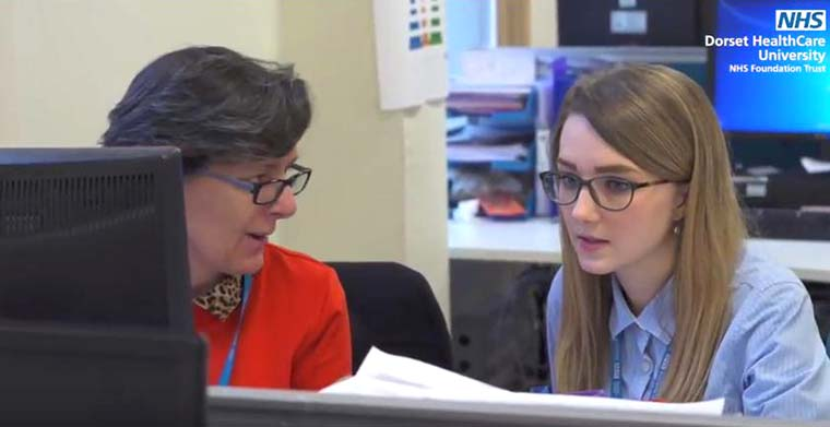 Former apprentice and current medical secretary Emma Walsh
