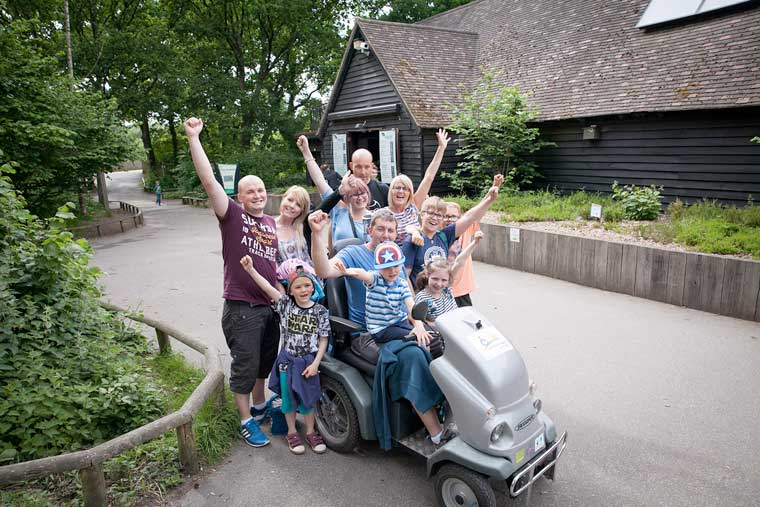 Moors Valley benefits from lottery fund to improve access for people with disabilities