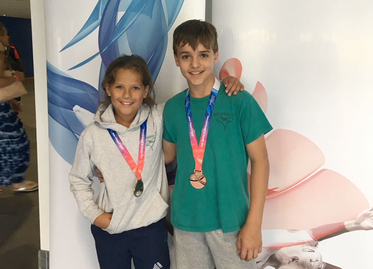 Spirals Trampolining Club sees squad come away with medals at the Trampoline and Tumbling NDP Finals
