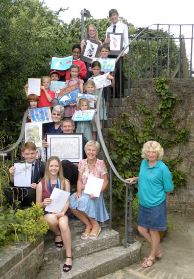 Wimborne in Bloom Poetry and Art Competition