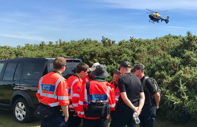 Exercise tests multi-agency response to missing people investigations