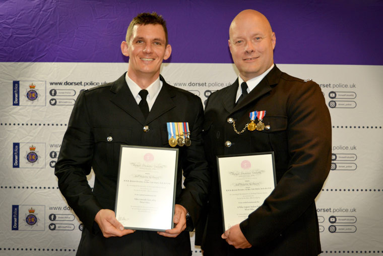 Acting Police Sergeant Andy Pasker, and Police Constable Peter Jelley