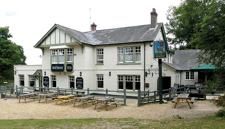 The Red Shoot Inn and Brewery