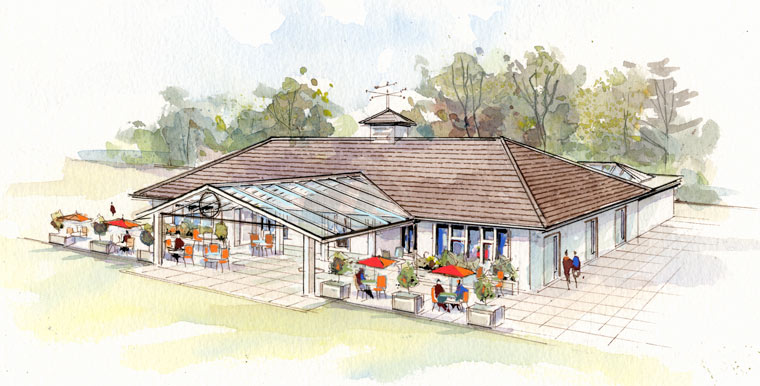 Plans to improve Whitecliff Pavilion