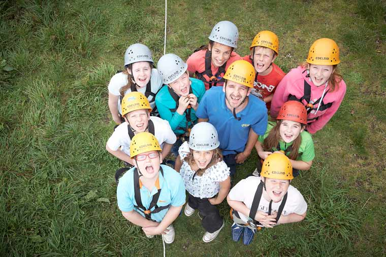 Freemasons give 200 hundred children the chance of a free adventure holiday