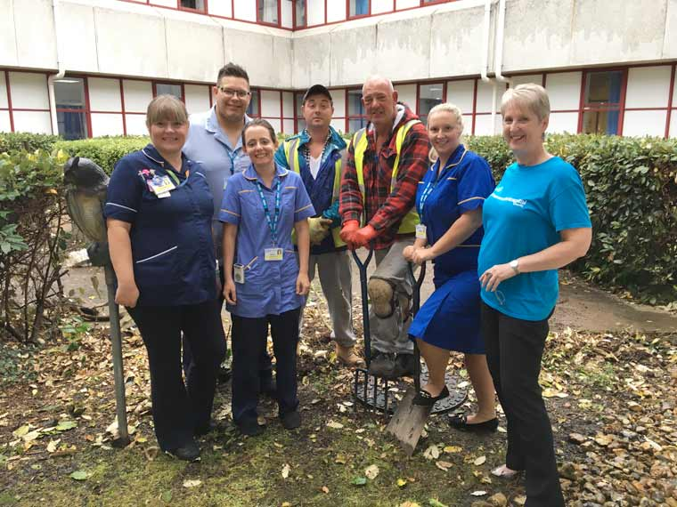 Petal Garden development project get underway at Royal Bournemouth Hospital