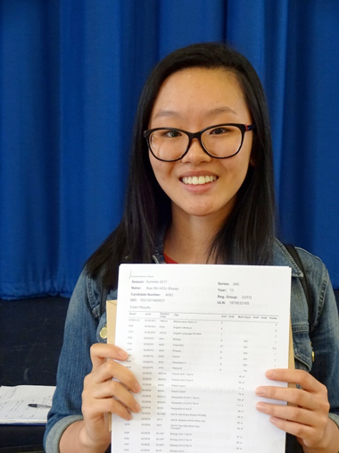 Outstanding GCSE results at Ferndown Upper School