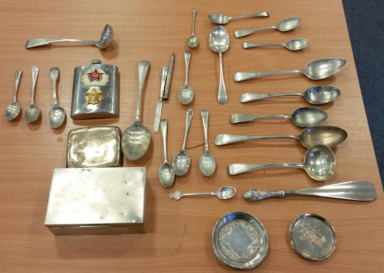 Officers are appealing for the public's help to locate the owner of suspected items of stolen silverware that have been found in Shaftesbury