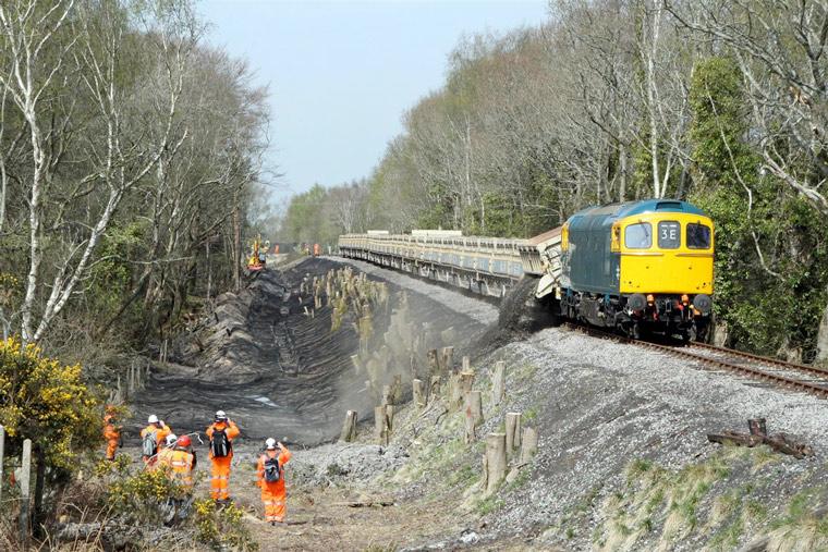 Swanage Railway volunteers win coveted civil engineering award