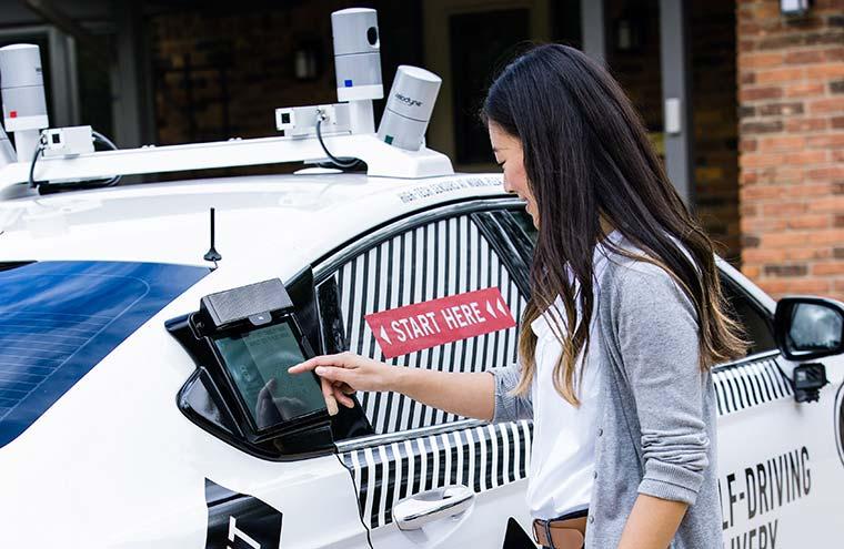 Self-driving vehicle