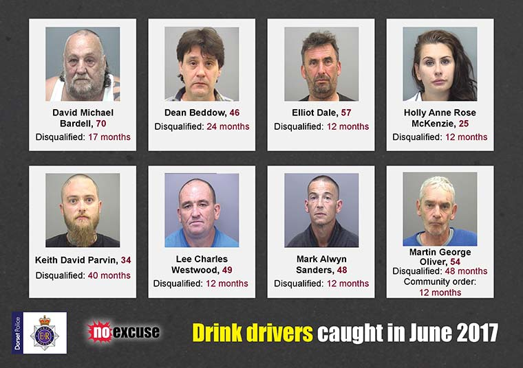 Caught during the drink driving during summer campaign