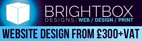 BrightBox Designs - website design