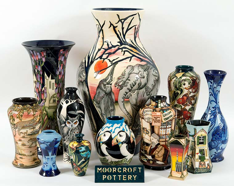 Moorcroft collection