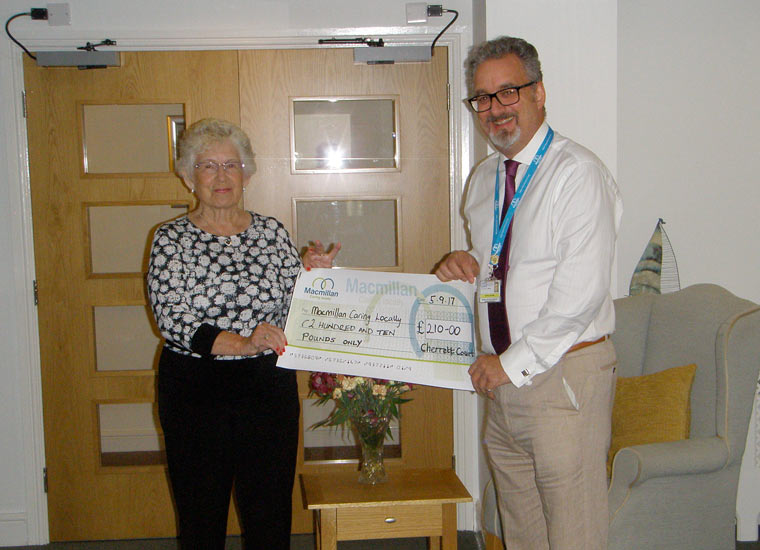 Ferndown residents make two donations to one charity