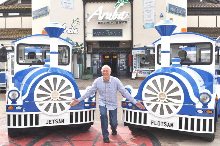 Bournemouth welcomes Flotsam and Jetsam to land train fleet
