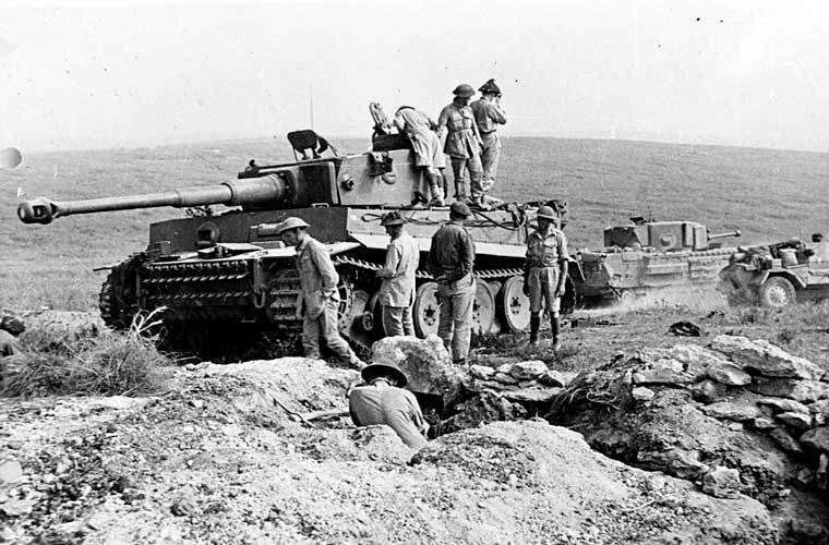 The Tiger 131 tank