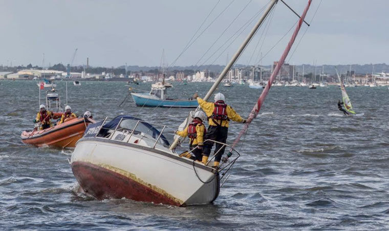Back-to-back shouts for Poole lifeboats