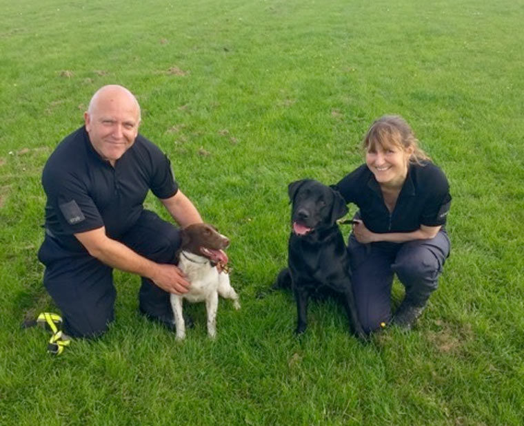 Digital storage detection dogs join the force