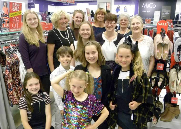 Fashion show raises funds for Wimborne in Bloom