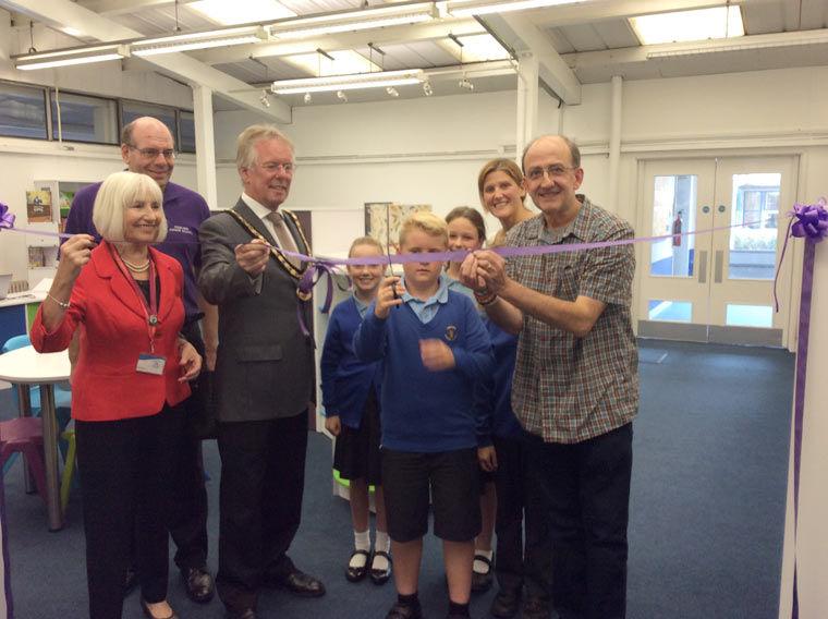 Poulner Junior School library renovation creates a buzz