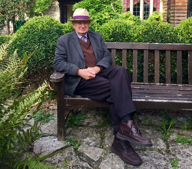 John Evans at Priest's House Museum and Garden