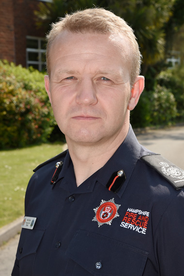 New fire chief appointed for Hampshire